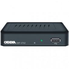 Цифровой эфирный приемник DVB-T2 CADENA CDT-1712