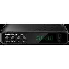 Цифровой эфирный приемник DVB-T2 World Vision T62D