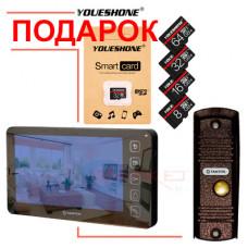 Дарим MicroSD карту к видеодомофонам